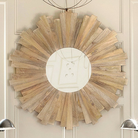 Oversized sunburst mirror from Ballard Designs