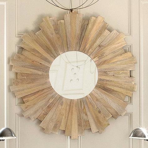 Oversized sunburst mirror from Ballard Designs