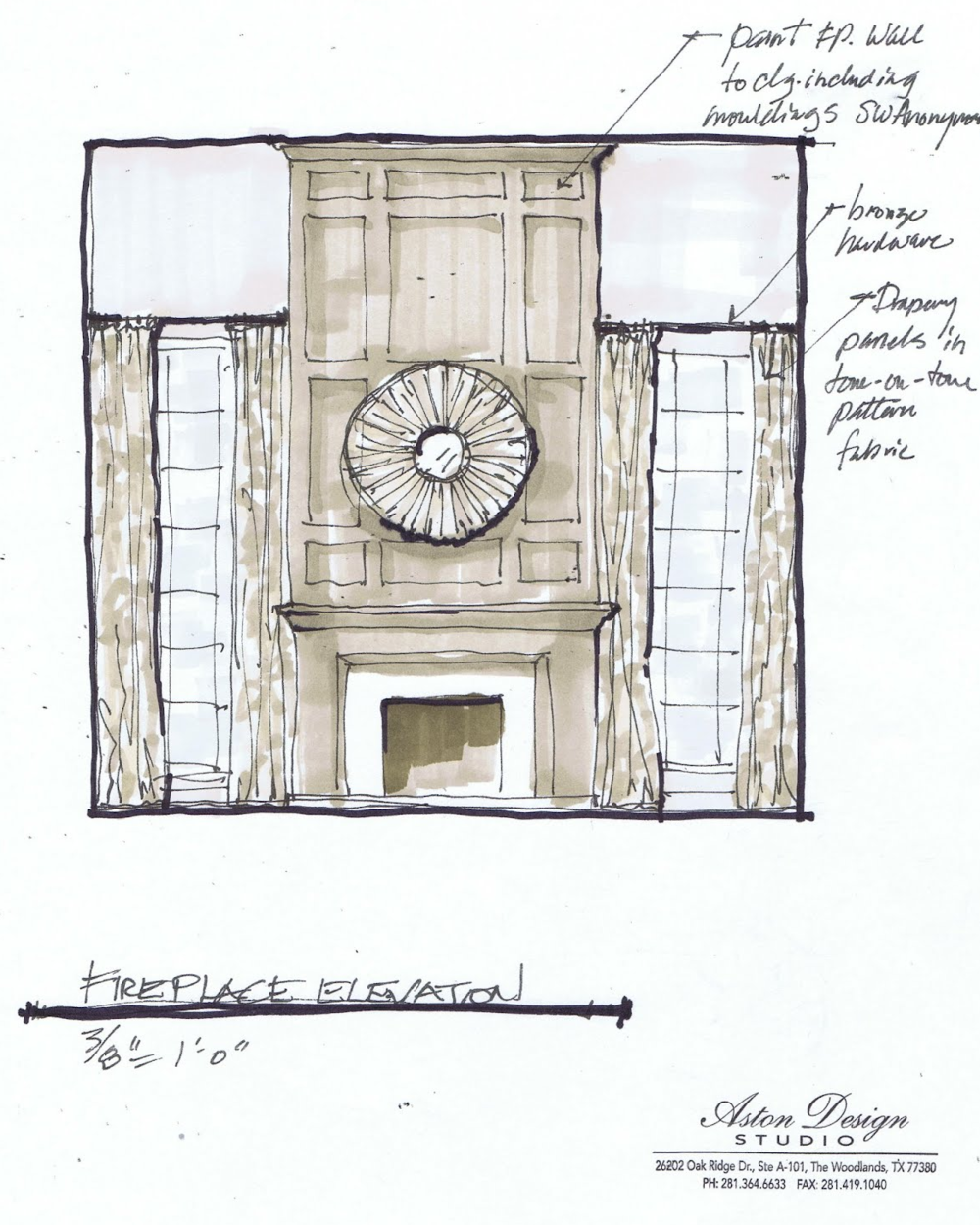 Fireplace PLAN / Click image to enlarge