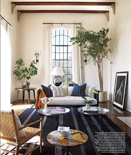 "Article: ""Gutsy, Provocative, Distinctive Interiors With Feminine Style"" Link ➤ http://carlaaston.com/designed/interiors-with-feminine-style 