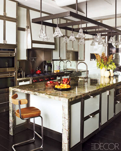 Article | Analyzed & Admired | The Interior Designs of Steven Gambrel  LINK ➤ http://carlaaston.com/designed/analyzed-admired-steven-gambrel-interior-designer | Tags: #kitchen, #white, #light #fixture | Image found @ Elle Decor