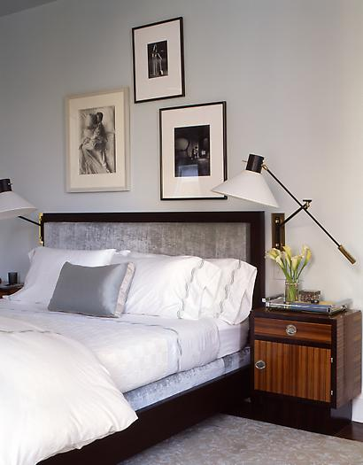 Article | Analyzed & Admired | The Interior Designs of Steven Gambrel | LINK ➤ http://carlaaston.com/designed/analyzed-admired-steven-gambrel-interior-designer | Tags: #bedroom, #wall #art, #lighting, #bed #headboard | Image found @ Unknown