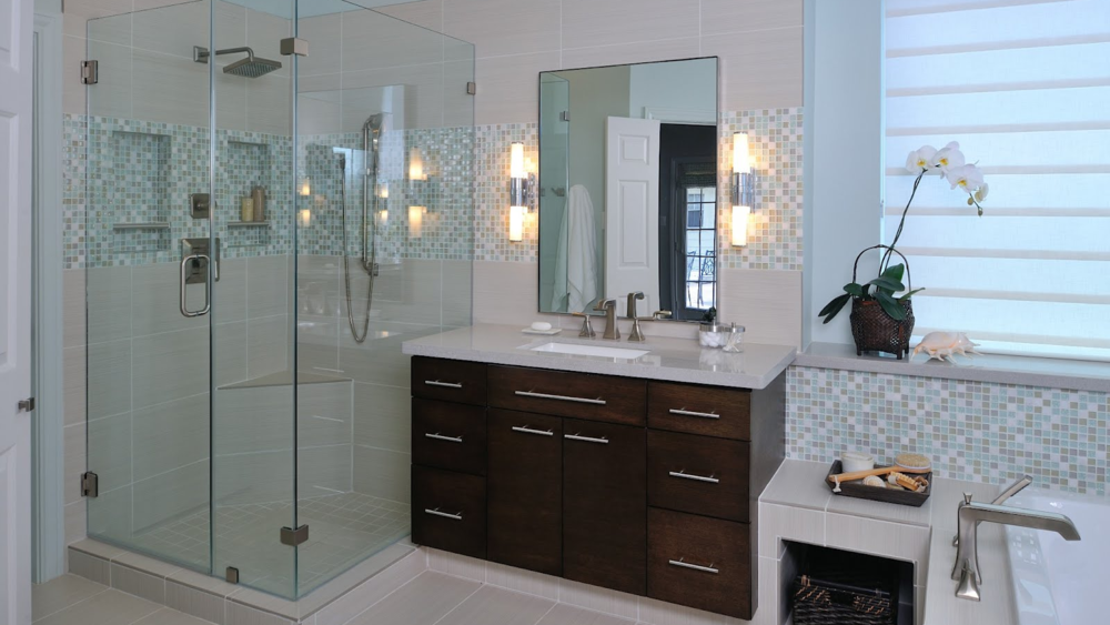 Interior Design Project Tour | A Matured Bath Is Modernized / DESIGNED by: Carla Aston