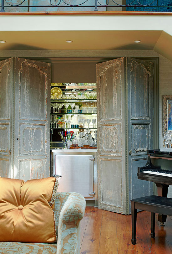 ARTICLE: Reclaimed Doors - Design's Entryway Into Yesterday | Image Source: Calliespondence | CLICK LINK TO READ... http://carlaaston.com/designed/reclaimed-door-design-entryway-to-yesterday