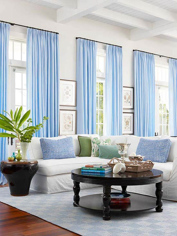 ARTICLE: Open Floor Plans Can Be Colorful, Too! Here's The Trick... | Image Source: Jessica Locke | CLICK LINK TO READ http://carlaaston.com/designed/how-to-bring-color-to-open-floor-plan-without-painting-walls