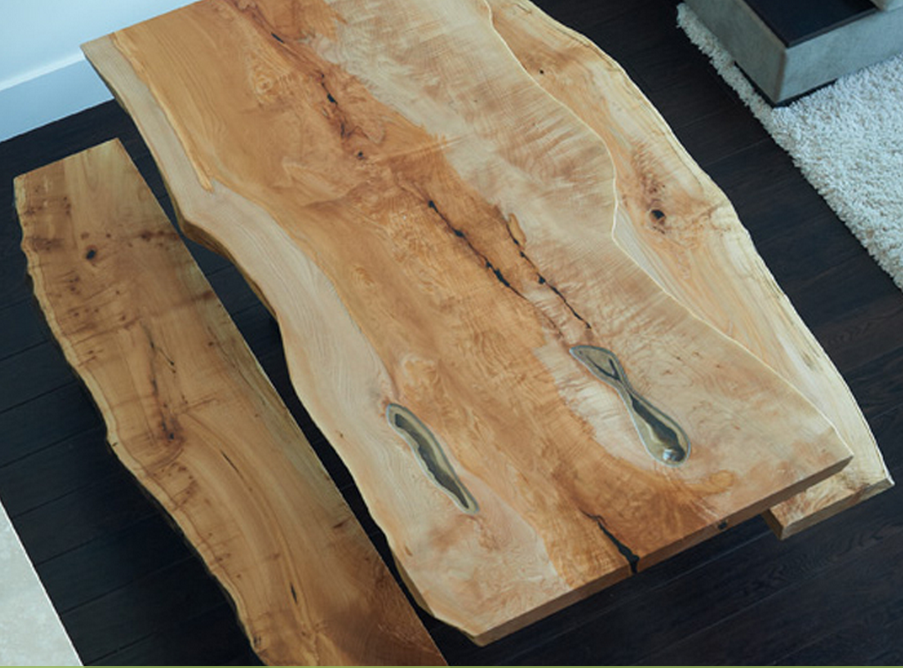Loving a Live Edge | Source:  Live Edge Design  #liveedge