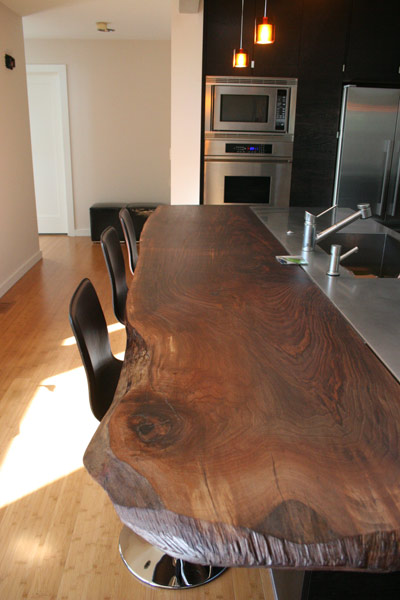 Loving a Live Edge | Image Source:  Your Perfect Space #liveedge