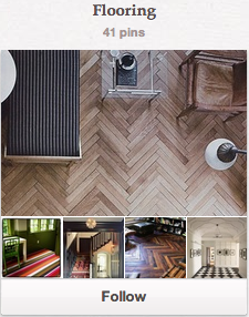 "Click to Follow my ""Flooring"" Board on Pinterest"