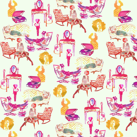 ARTICLE: Toile de Joy | You Either Love It Or Hate It | Image Source:  Design Sponge  | CLICK TO READ... http://carlaaston.com/designed/toile-de-jouy-love-or-hate-design-pattern