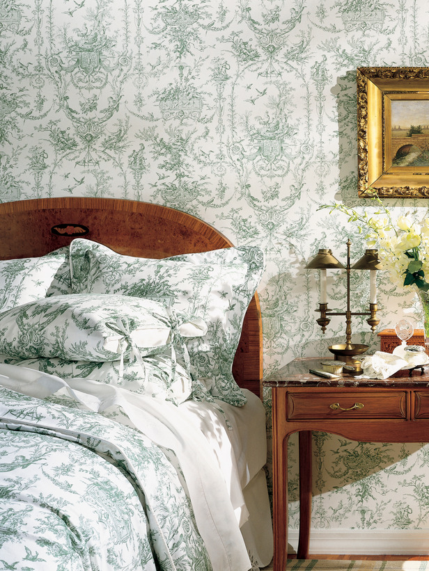 ARTICLE: Toile de Joy | You Either Love It Or Hate It | Image Source:  HGTV  | CLICK TO READ... http://carlaaston.com/designed/toile-de-jouy-love-or-hate-design-pattern