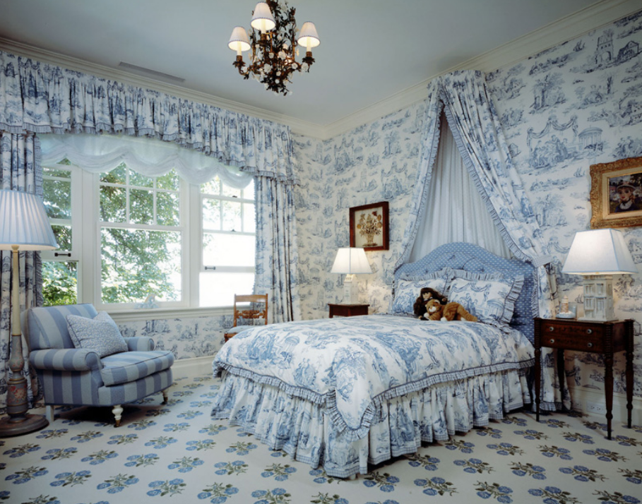 ARTICLE: Toile de Joy | You Either Love It Or Hate It | Image Source:  Nursery Notations  | CLICK TO READ... http://carlaaston.com/designed/toile-de-jouy-love-or-hate-design-pattern