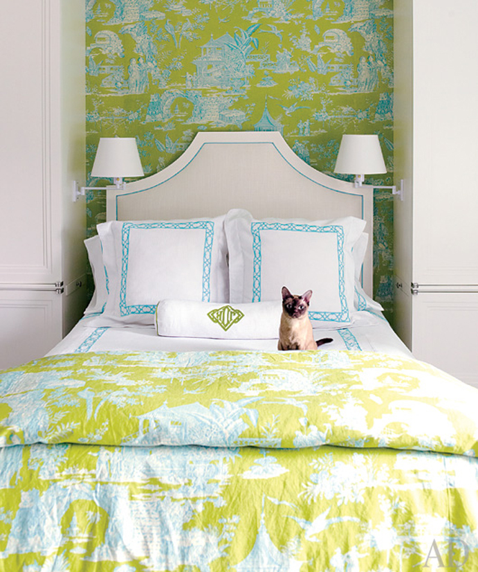 ARTICLE: Toile de Joy | You Either Love It Or Hate It | Image Source:  Digs Digs  | CLICK TO READ... http://carlaaston.com/designed/toile-de-jouy-love-or-hate-design-pattern