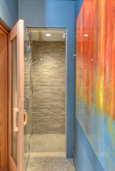 ARTICLE & GALLERY | Vein-Cut Stone - Like The Ocean, Its Effortless Flow Soothes With A Zen-Like Ambience | Image Source: The Red Vault | CLICK TO ENJOY... http://carlaaston.com/designed/vein-cut-stone-texture-with-zen-ambience | (KWs: texture, design, bathroom, flooring, wall)