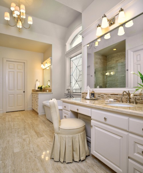 ARTICLE & GALLERY | Vein-Cut Stone - Like The Ocean, Its Effortless Flow Soothes With A Zen-Like Ambience | Image Source: Carla Aston | CLICK TO ENJOY... http://carlaaston.com/designed/vein-cut-stone-texture-with-zen-ambience | (KWs: texture, design, bathroom, flooring, wall)