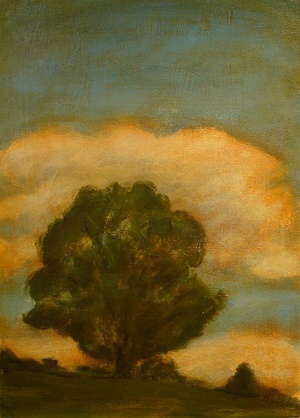 Robert H Ballard One Tree Hill painting one of many sold in the gallery.jpg