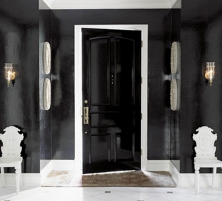 ARTICLE & GALLERY | Go Glossy, Feel Glamorous! - Get Inspired By These Shiny, Happy Interiors | Image Source: Shelterness | CLICK TO ENJOY... http://carlaaston.com/designed/go-glossy-feel-glamorous (KWs: gloss, paint, wall, cabinet, door, finish)