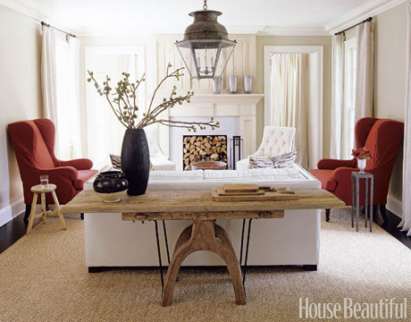 Kay Douglass ARTICLE | How To Add Color To An Open Plan House - Tip #439: Just A Dab Will Do Ya | Image Source: Kay Douglass | CLICK TO ENJOY... http://carlaaston.com/designed/how-to-add-color-open-plan-house-dab-will-do-ya | (KWs: paint, wall )