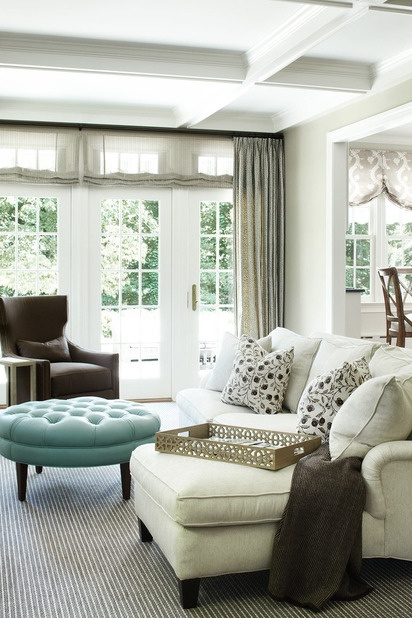 ARTICLE | How To Add Color To An Open Plan House - Tip #439: Just A Dab Will Do Ya | Image Source: ML Interiors | CLICK TO ENJOY... http://carlaaston.com/designed/how-to-add-color-open-plan-house-dab-will-do-ya | (KWs: paint, wall )