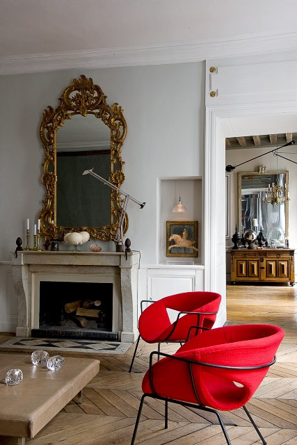 ARTICLE   How To Add Color To An Open Plan House - Tip #439: Just A Dab Will Do Ya   Image Source: The Diversion Project   CLICK TO ENJOY... http://carlaaston.com/designed/how-to-add-color-open-plan-house-dab-will-do-ya   (KWs: paint, wall )