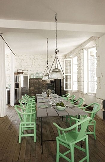 ARTICLE   How To Add Color To An Open Plan House - Tip #439: Just A Dab Will Do Ya   Image Source: Yellow Trace   CLICK TO ENJOY... http://carlaaston.com/designed/how-to-add-color-open-plan-house-dab-will-do-ya   (KWs: paint, wall )