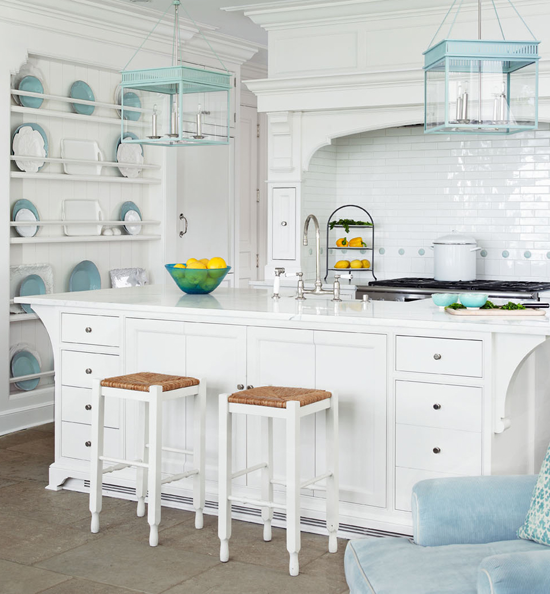 ARTICLE | How To Add Color To An Open Plan House - Tip #439: Just A Dab Will Do Ya | Image Source:Louise Brooks and Traditional Home| CLICK TO ENJOY... http://carlaaston.com/designed/how-to-add-color-open-plan-house-dab-will-do-ya | (KWs: paint, wall )