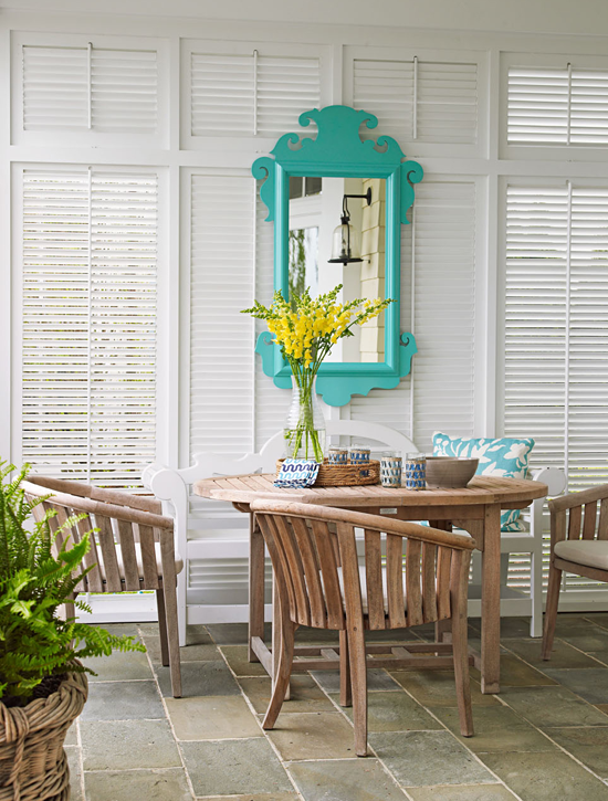 ARTICLE   How To Add Color To An Open Plan House - Tip #439: Just A Dab Will Do Ya   Image Source: The Estate of Things   CLICK TO ENJOY... http://carlaaston.com/designed/how-to-add-color-open-plan-house-dab-will-do-ya   (KWs: paint, wall )