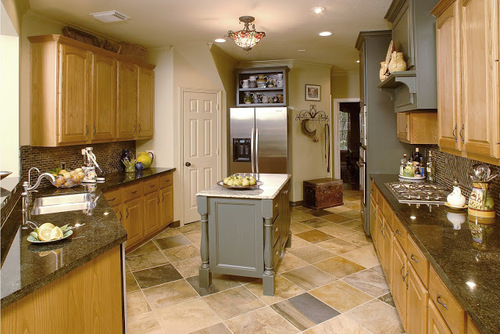 Kitchen Design Ideas With Oak Cabinets what to do with oak cabinets — designed