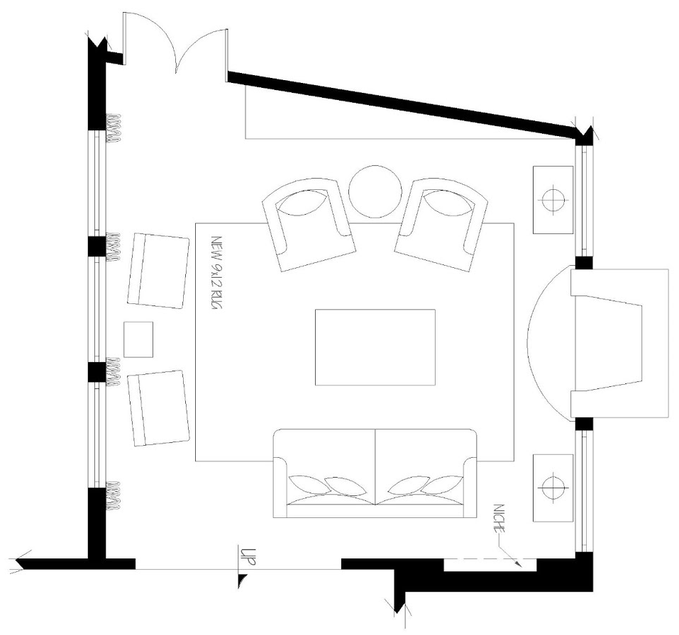 Furniture plan   Click image to enlarge fullscreen
