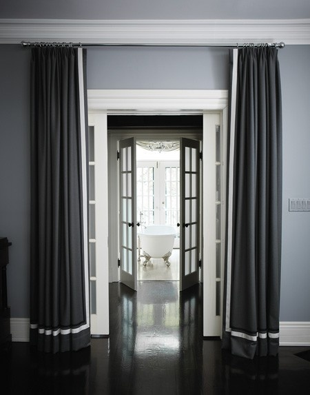 ARTICLE & GALLERY | Finding The Vista In A Home | Image Source: Campion Platt | CLICK TO ENJOY... http://carlaaston.com/designed/finding-the-vista | (KWs: hallway, wall, door, window)