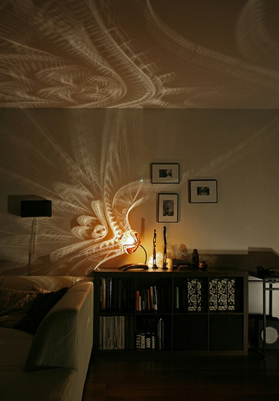 ARTICLE + GALLERY  Patterns Of Light   Their Shine Will Surprise Any Design Image Source: Dornob   CLICK TO ENJOY... http://carlaaston.com/designed/patterns-of-lighting   (KWs: lighting, lamp, ambience, fixture )