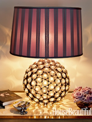 ARTICLE + GALLERY  Patterns Of Light   Their Shine Will Surprise Any Design Image Source: House Beautiful   CLICK TO ENJOY... http://carlaaston.com/designed/patterns-of-lighting   (KWs: lighting, lamp, ambience, fixture )