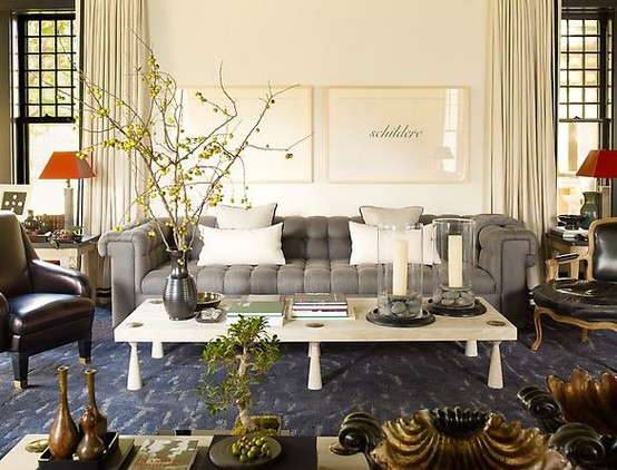 ARTICLE + GALLERY   CHALLENGE: Which Interior Designer Designed These Spaces?   CLICK TO VIEW... http://carlaaston.com/designed/name-that-interior-designer-01   Image Source: Steven Gambrel