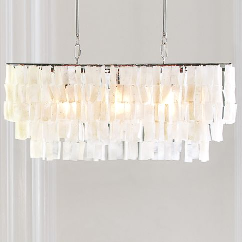 NEEDED: One Large Capiz Pendant = $239 @WestElm