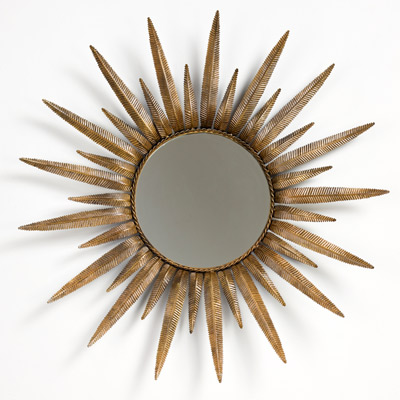 NEEDED: One Gold Sunburst Mirror = $173 @LaylaGrace