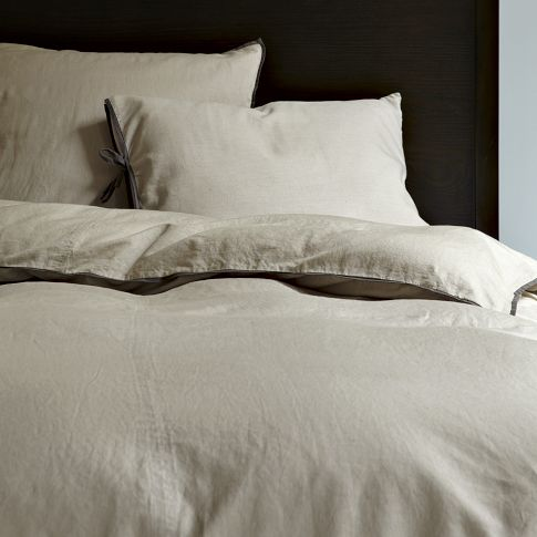 NEEDED: Two Linen Duvet/Shams - $207 (Total) @West Elm