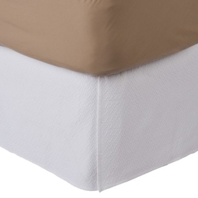 NEEDED: Matelasse White Bed Skirt (Queen) - $49/99 @Target