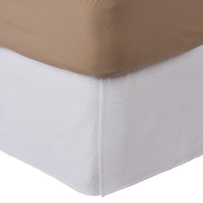 NEEDED: Matelasse White Bed Skirt (Queen) - $49/99 @Target