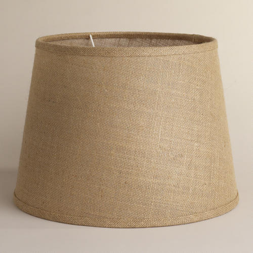 NEEDED: Burlap Lampshades - $39.98 for 2 @WorldMarket