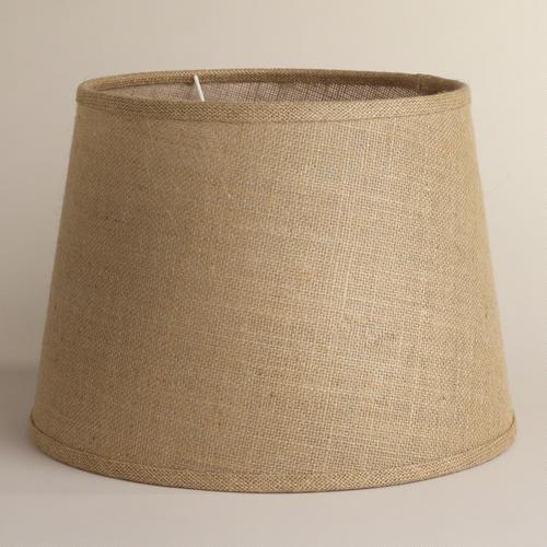 NEEDED:Burlap Lampshades- $39.98 for 2@WorldMarket
