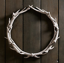 NEEDED: Antler Wreath - $199 @RestorationHardware