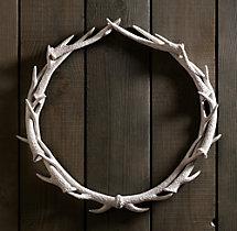 NEEDED: Antler Wreath - $199 @RestorationHardware