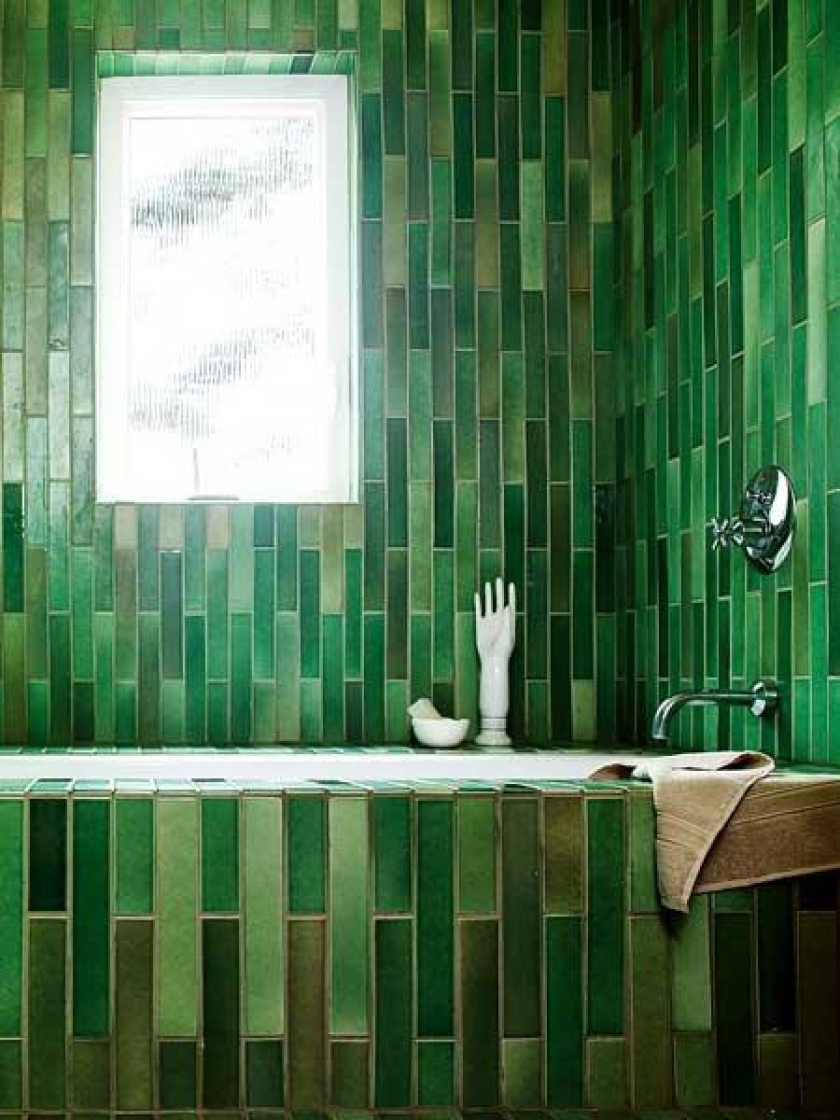 Article + Gallery ➤ http://CARLAASTON.com/designed/pantone-color-of-year-2013-emerald-green SEE Why Emerald Green Is Pantone's Color Of The Year (Image Source: design-crisis.com)