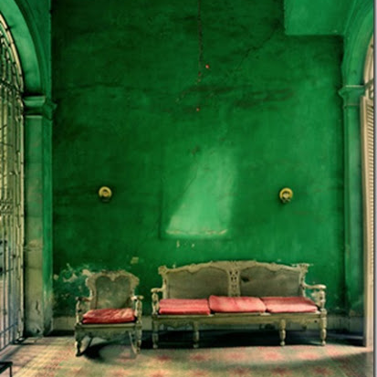 Article + Gallery ➤ http://CARLAASTON.com/designed/pantone-color-of-year-2013-emerald-green SEE Why Emerald Green Is Pantone's Color Of The Year (Image Source: Unknown)