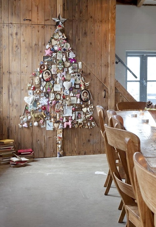 Article + Gallery ➤ http://CARLAASTON.com/designed/25-extraordinary-christmas-tree-designs 25 Extraordinary Christmas Trees Designed To Make Yours Look Ordinary (Image Source: nicety.livejournal.com | Kw: holiday, card )