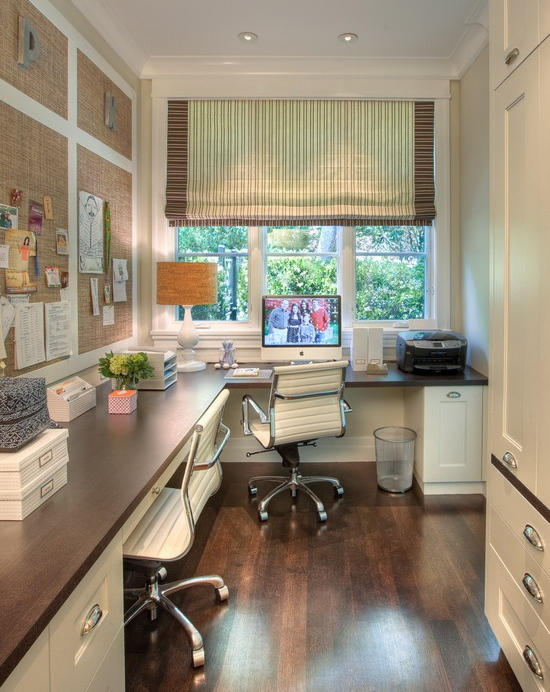 Cool Home Office Ideas Part - 41: Image Via: Houzz,u0026nbsp; Polsky Perstein Architects, Designer: Nina Topper  Interior