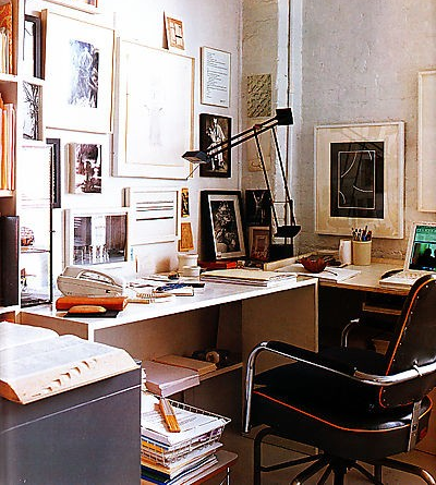 Home of artist: Stephen Antonakas, Elle Decor, March 2008