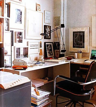 Home of artist: Stephen Antonakas, Elle Decor, March 2008