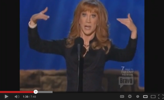 VIDEO: Kathy Griffin's Hilarious Take On A&E's  Hoarders