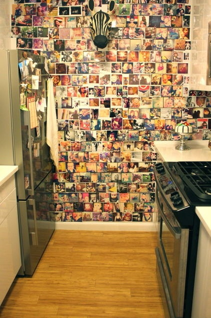 Pinterest Is Pretty, But Pinning Walls Will Always Be More Personal | 27 Examples Why ➤ http://CARLAASTON.com/designed/design-life-story-in-photos-pin-board-wall
