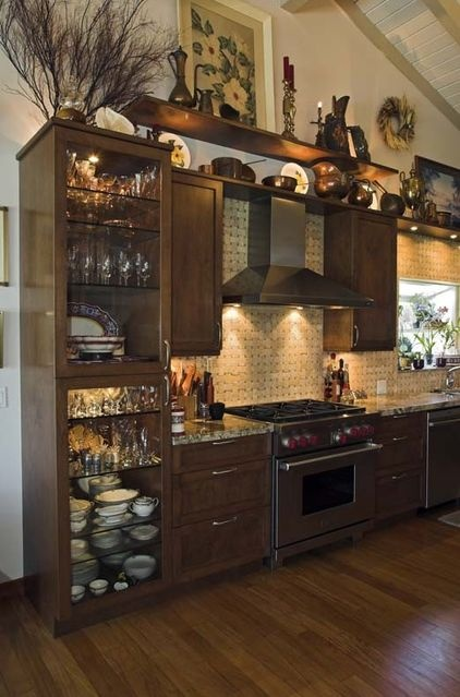 How to decorate the top of a cabinet and how not to Design ideas for above kitchen cabinets